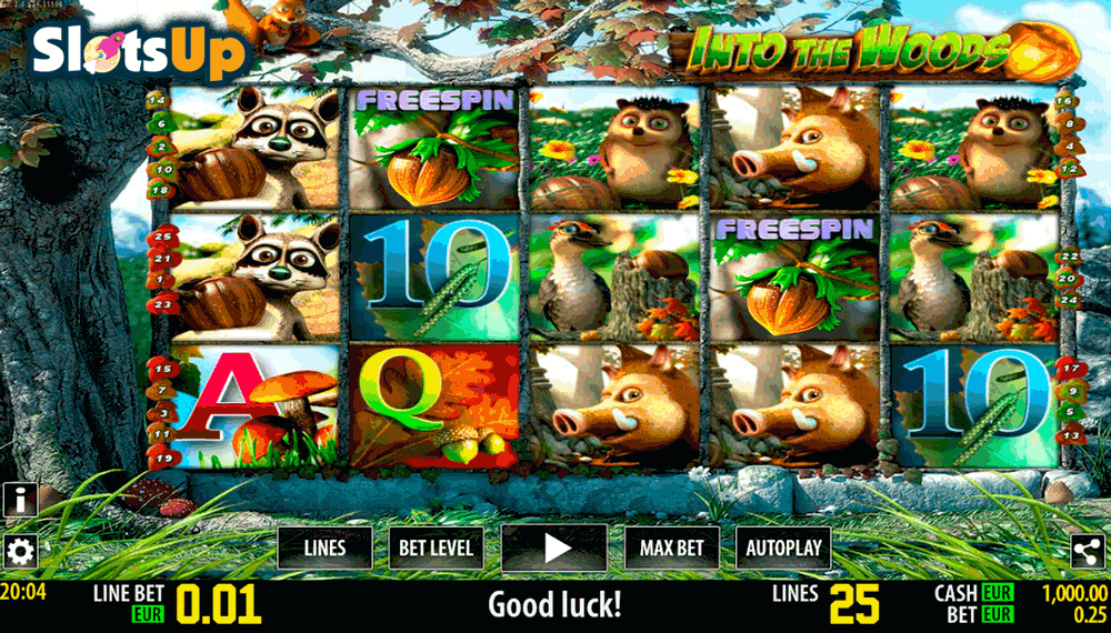 Into The Woods HD Slot Machine Online ᐈ World Match™ Casino Slots