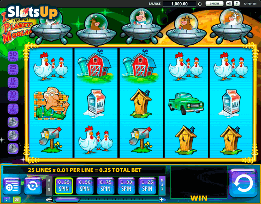 Planet Moolah Slot Machine Download