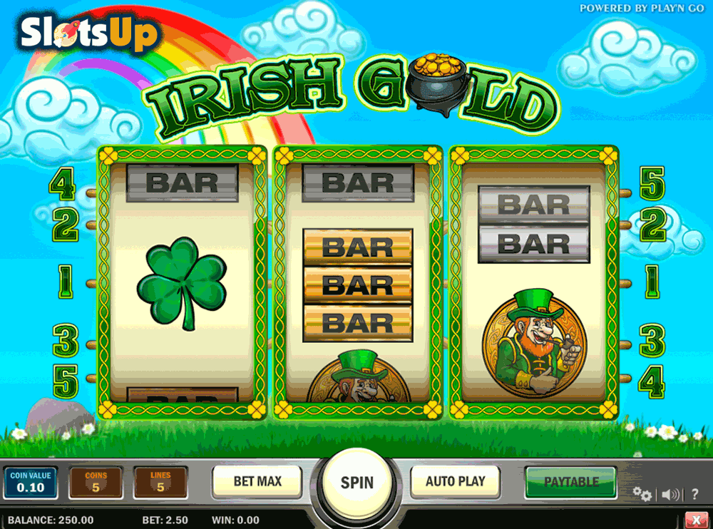 irish gold playn go casino slots