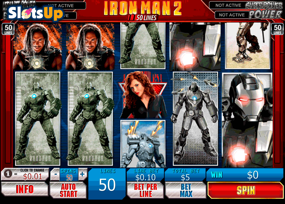 Iron Man 2™ Slot Machine Game to Play Free in Playtechs Online Casinos