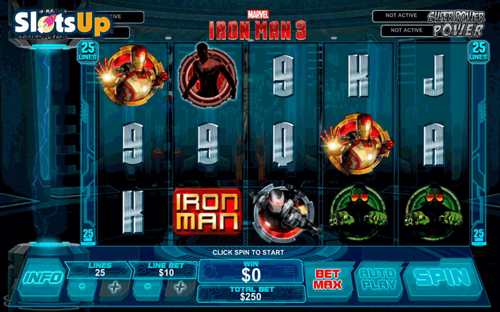 iron man 3 playtech casino slots