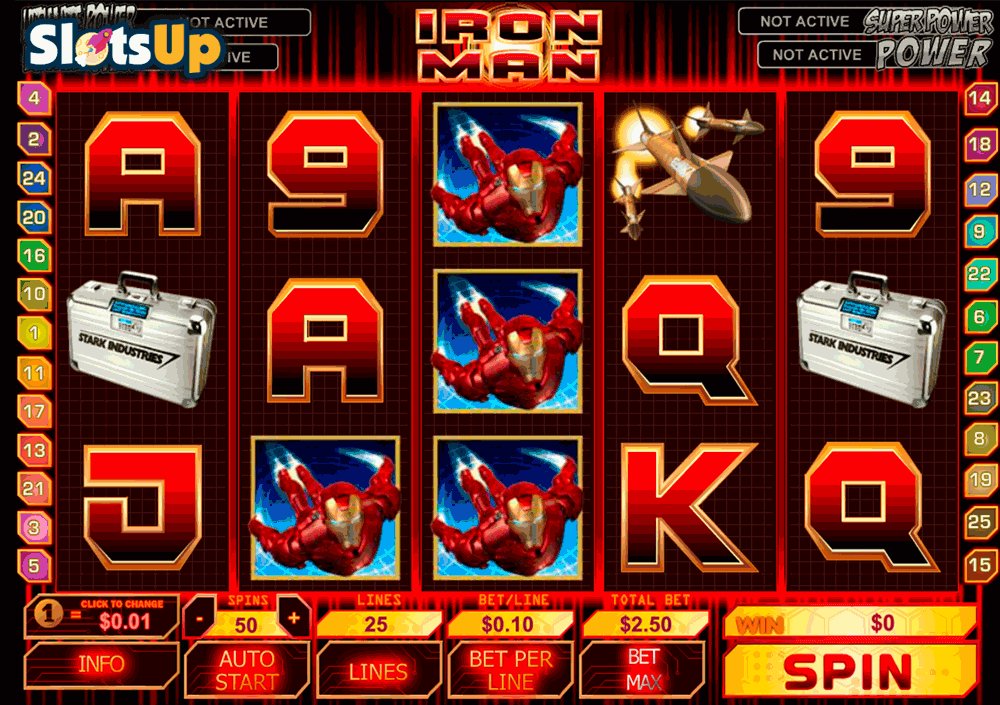 iron man playtech casino slots