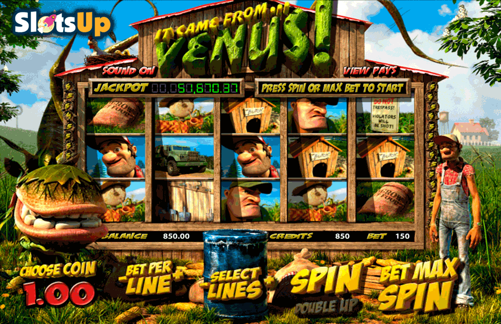 IT CAME FROM VENUS BETSOFT CASINO SLOTS