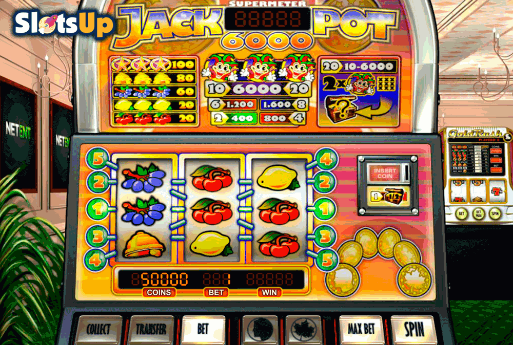 Jackpot 6000™ Slot Machine Game to Play Free in NetEnts Online Casinos