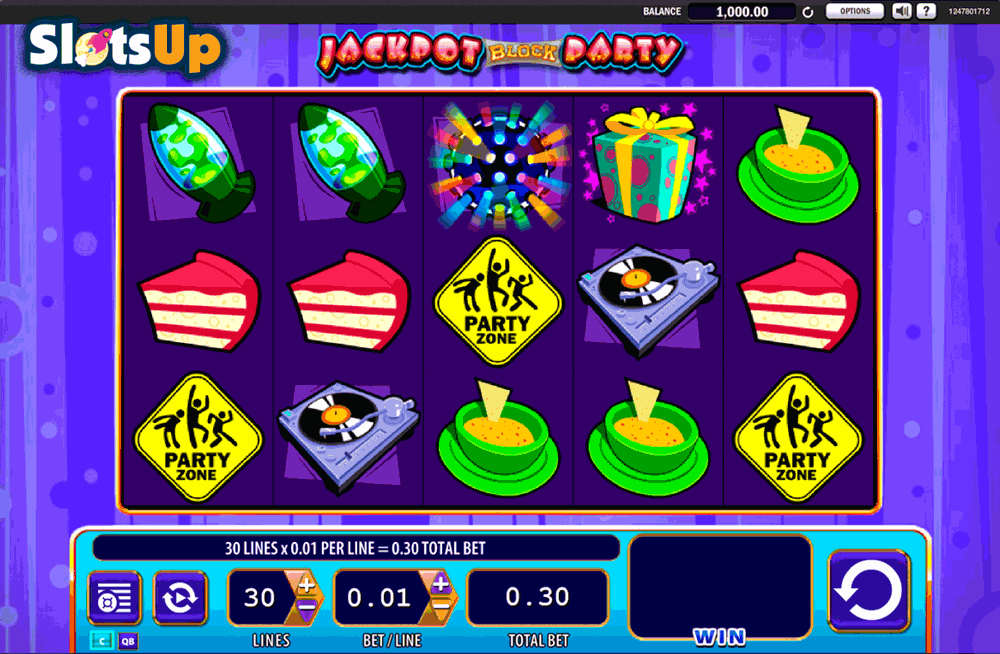 Jackpot Block Party™ Slot Machine Game to Play Free in WMS Gamings Online Casinos