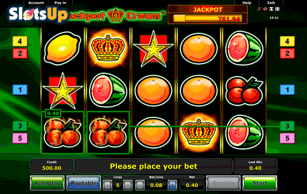 jackpot crown novomatic casino slots