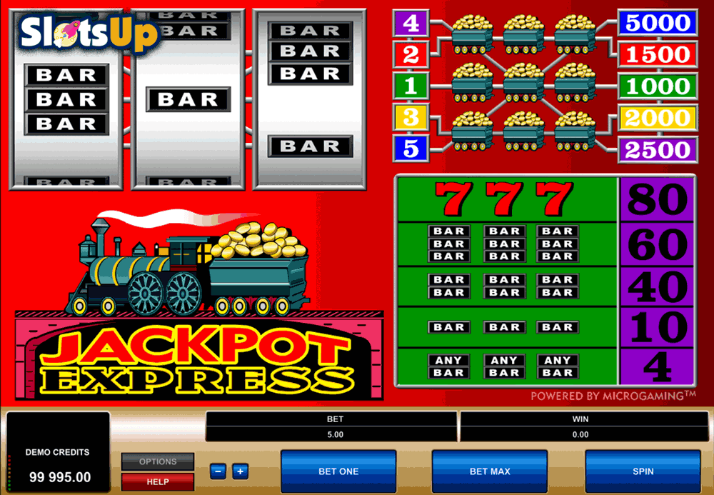 jackpot express microgaming casino slots