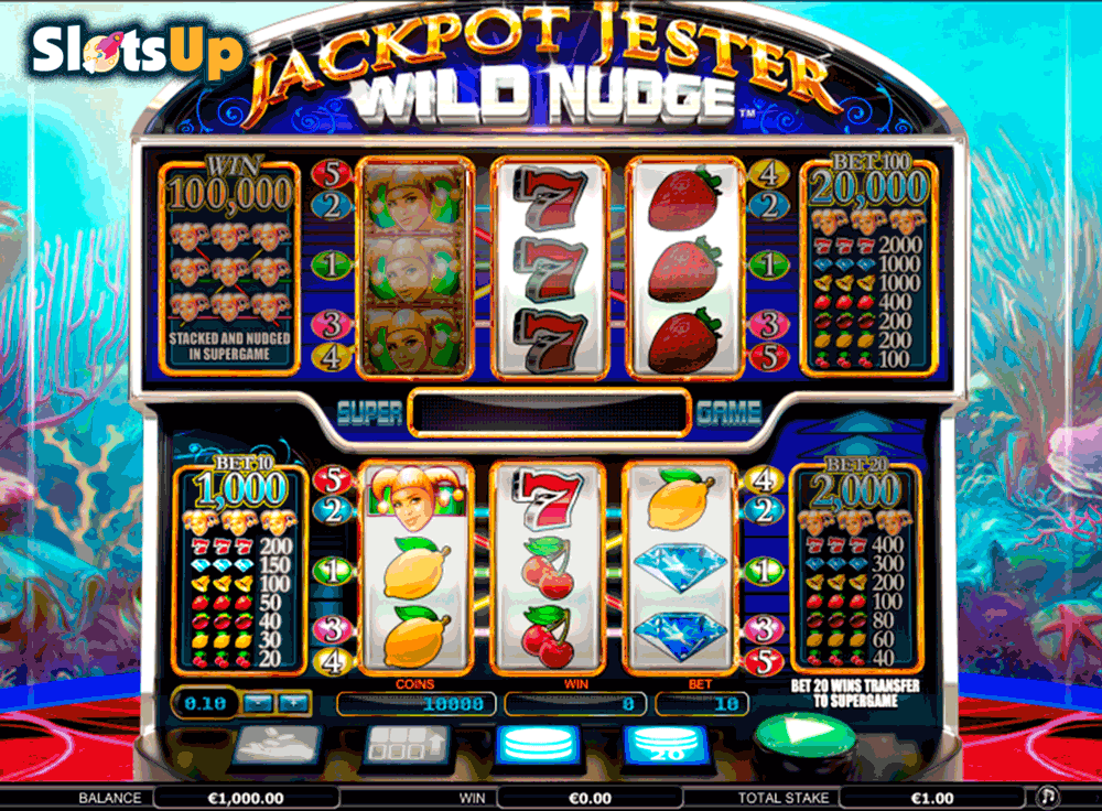 Jackpot Jester Wild Nudge Slot Machine – Play Free Online