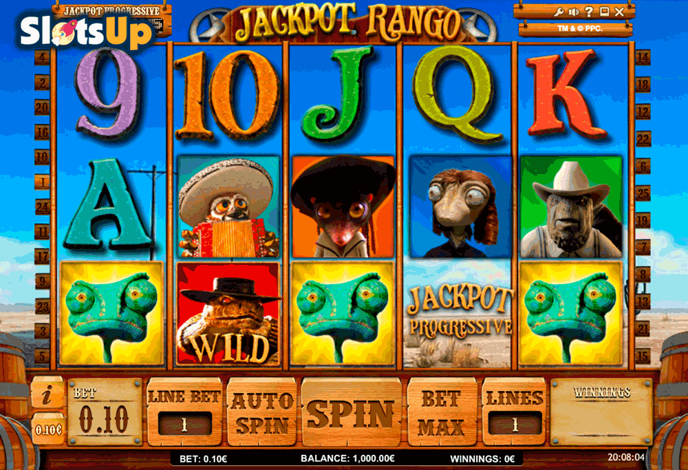 Jackpot Rango Slots - Play Online for Free Instantly