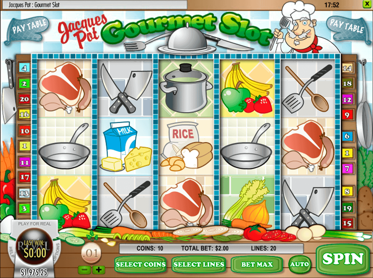 Jacques Pot. Gourmet Slot™ Slot Machine Game to Play Free in Rivals Online Casinos