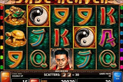 JADE HEAVEN CASINO TECHNOLOGY SLOT MACHINE