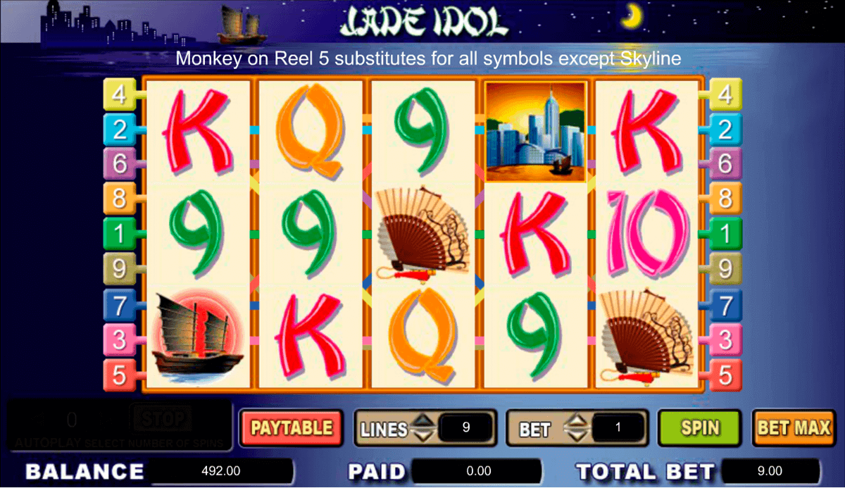 Jade Connection Slot Machine - Play Online for Free