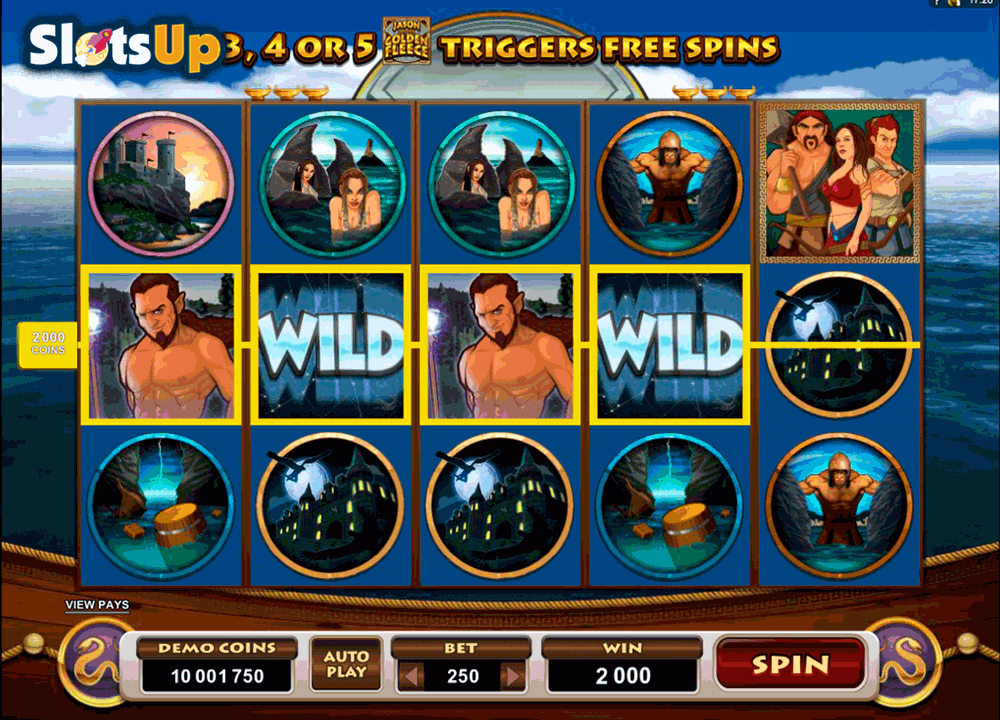 jason and the golden fleece microgaming casino slots