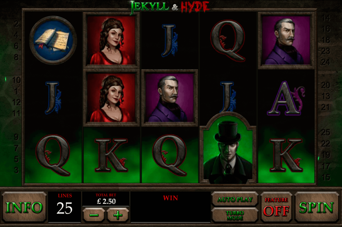 Play Jekyll and Hyde Online Slots at Casino.com NZ