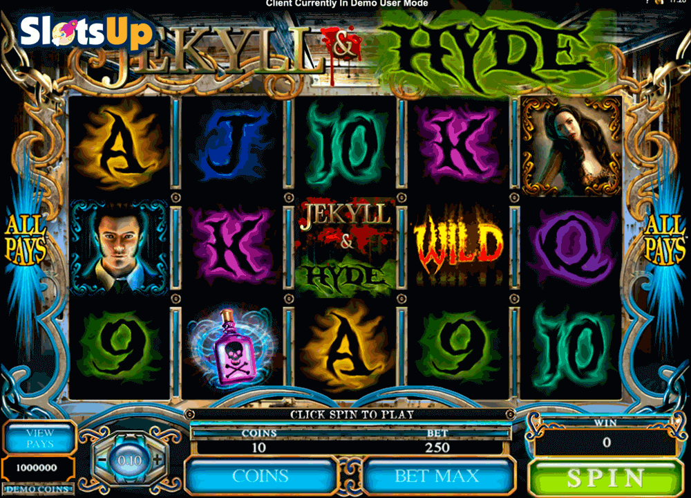 JEKYLL HYDE MICROGAMING CASINO SLOTS