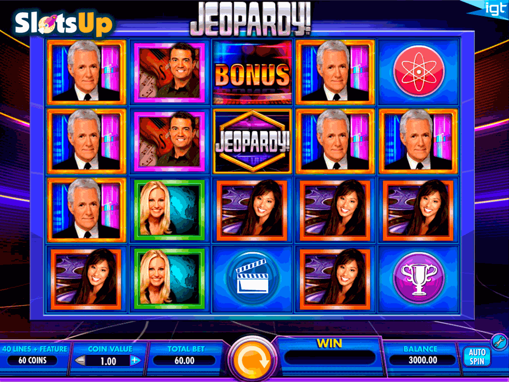 JEOPARDY IGT CASINO SLOTS