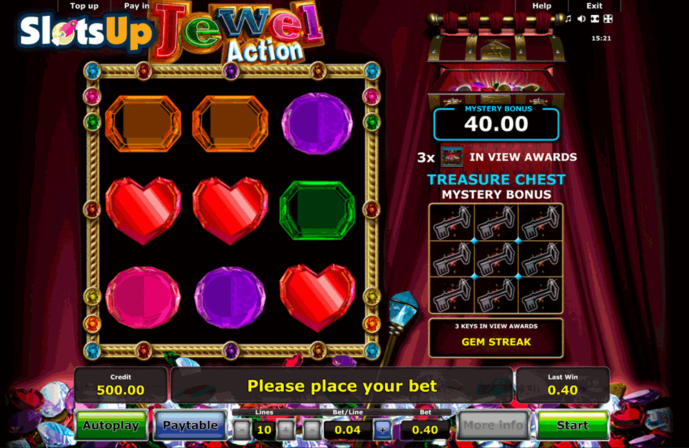 Jewel Action Slot Machine Online ᐈ Novomatic™ Casino Slots