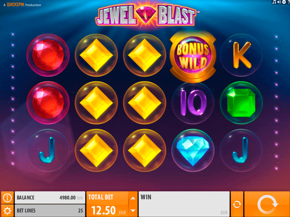Jewel Blast QuickSpin Online Slots for Real Money - Rizk.com