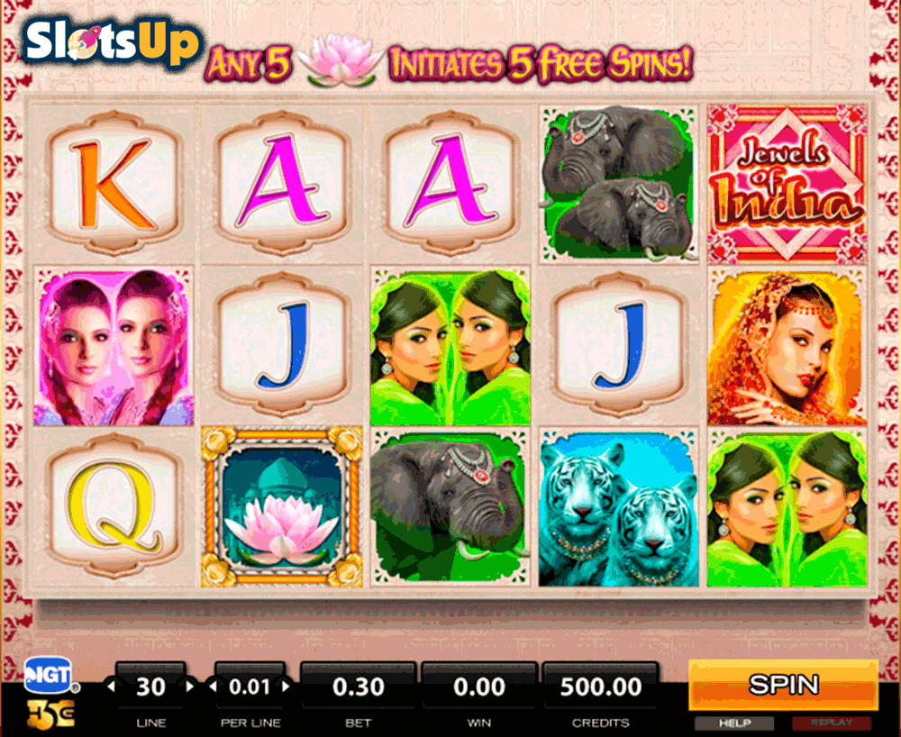 JEWELS OF INDIA HIGH5 CASINO SLOTS