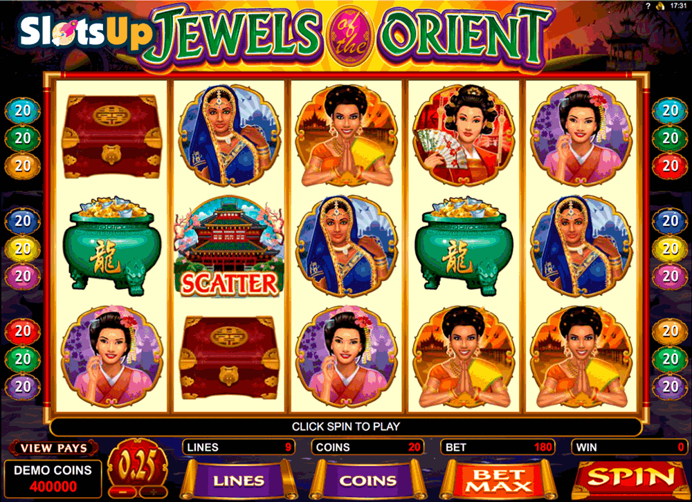 jewels of the orient microgaming casino slots