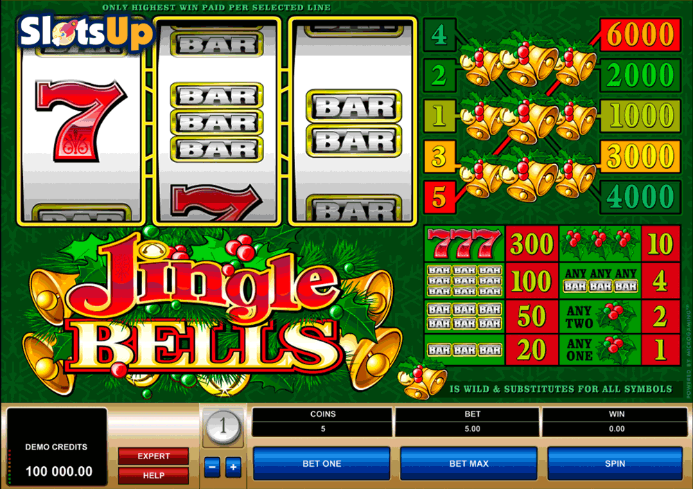 Jingle Bells Slots - Play Microgaming Games for Fun Online