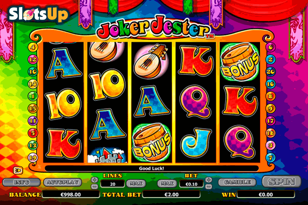 Joker Jester™ Slot Machine Game to Play Free in NextGen Gamings Online Casinos