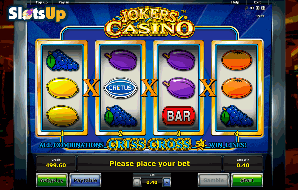 real casino slots online free joker casino
