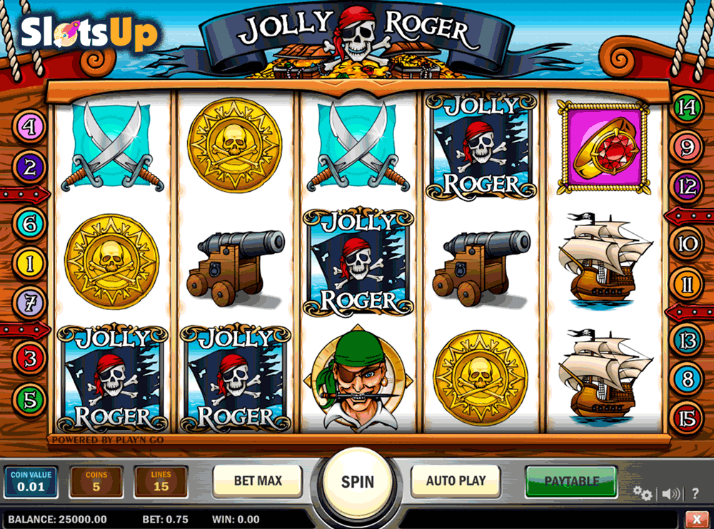 Jolly Roger™ Slot Machine Game to Play Free in Playn Gos Online Casinos