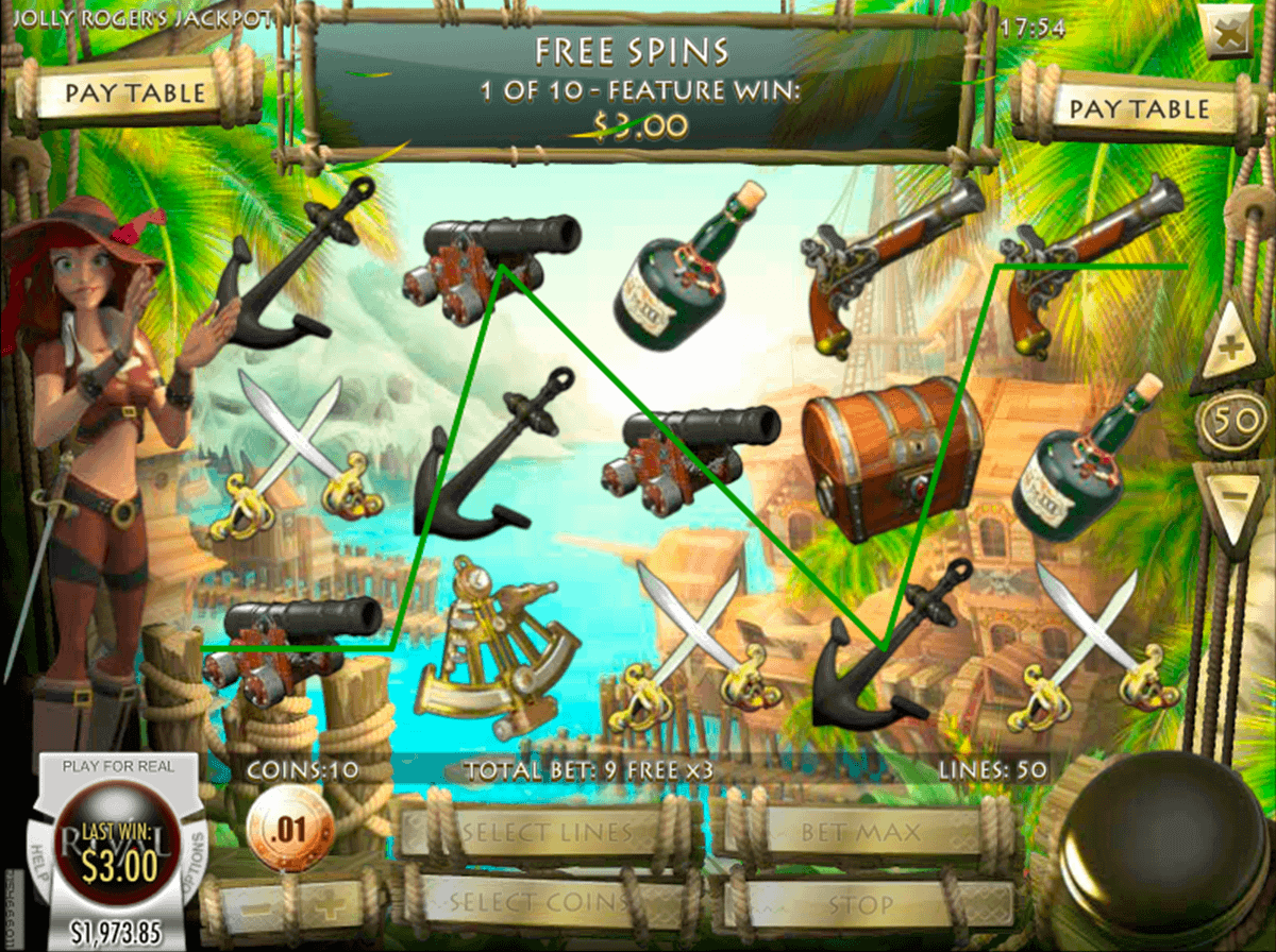 Jolly Roger Jackpot™ Slot Machine Game to Play Free in Rivals Online Casinos