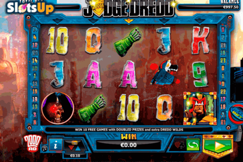 JUDGE DREDD NEXTGEN GAMING CASINO SLOTS