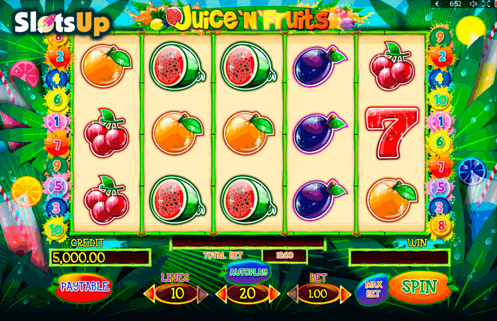 juicenfruits playson casino slots