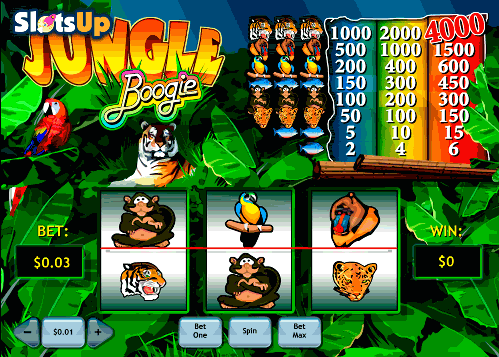 Drunken Jungle Slots - Play Online or on Mobile Now