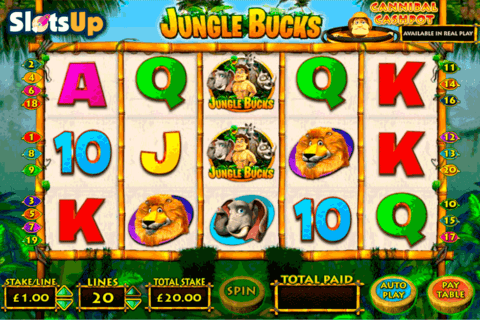 jungle bucks openbet casino slots 480x320