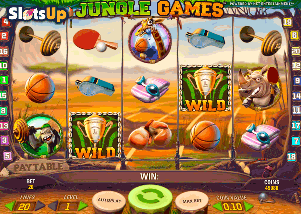 Jungle Games Slot Machine Online ᐈ NetEnt™ Casino Slots