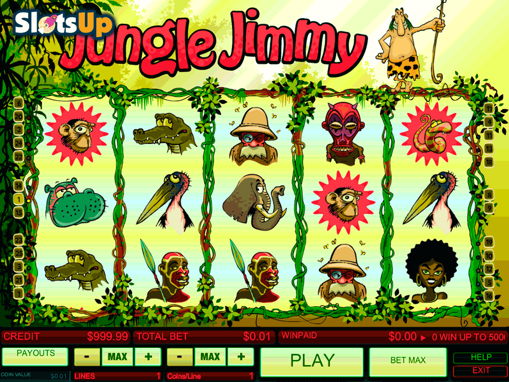 jungle jimmy b3w casino slots