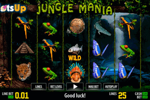 jungle mania hd world match casino slots