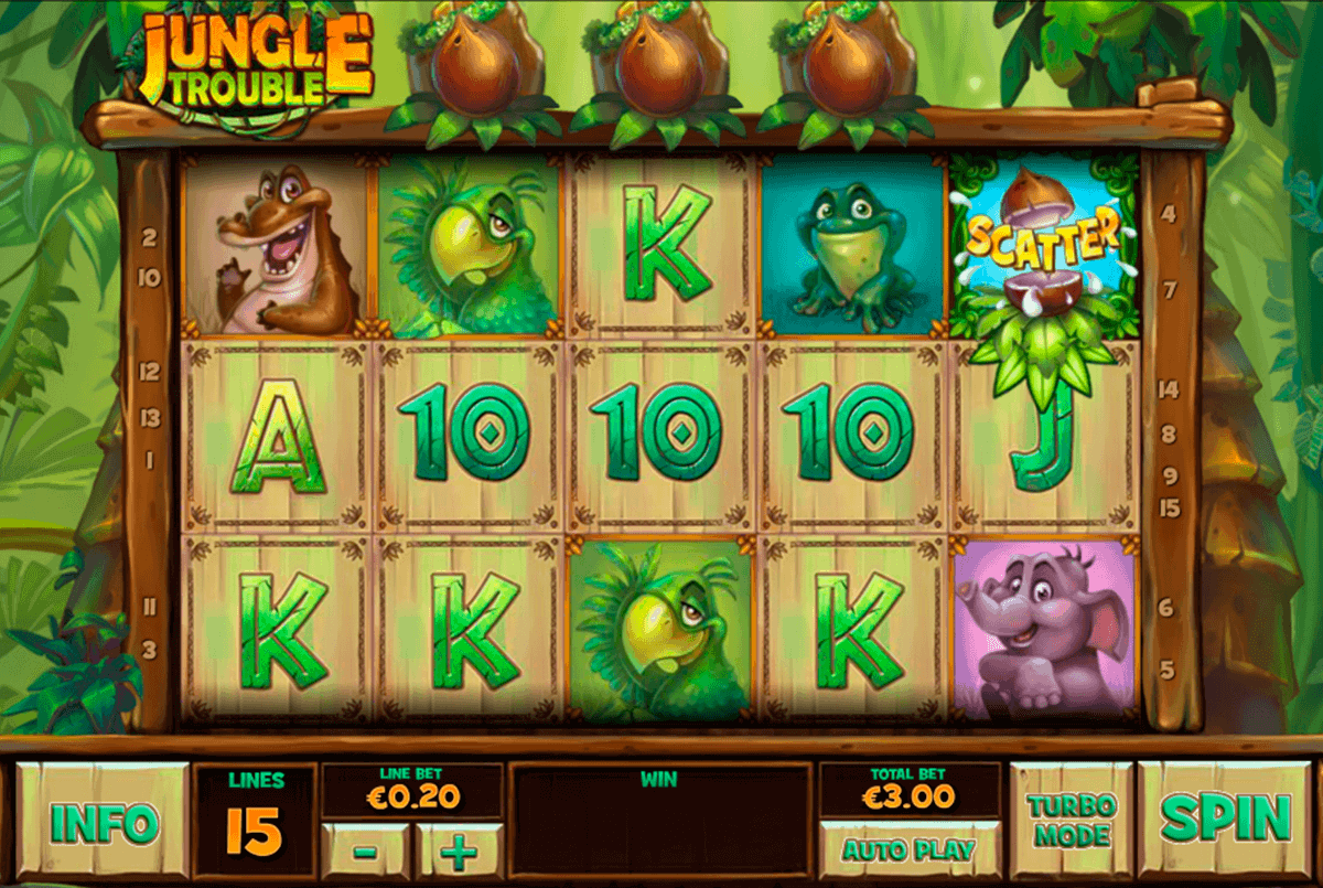 Play Jungle Trouble Online Slots at Casino.com New Zealand
