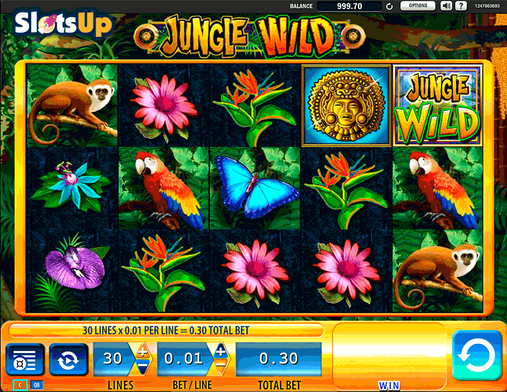 jungle wild wms casino slots