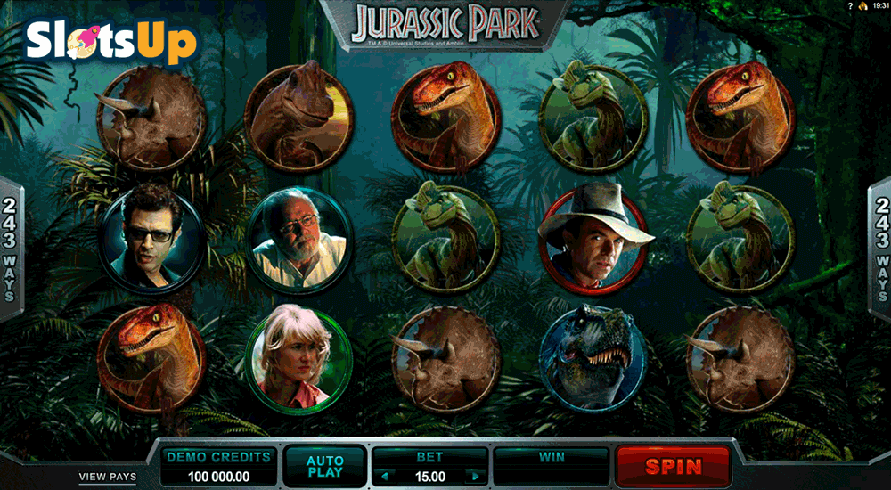 Jurassic Park™ Slot Machine Game to Play Free in Microgamings Online Casinos