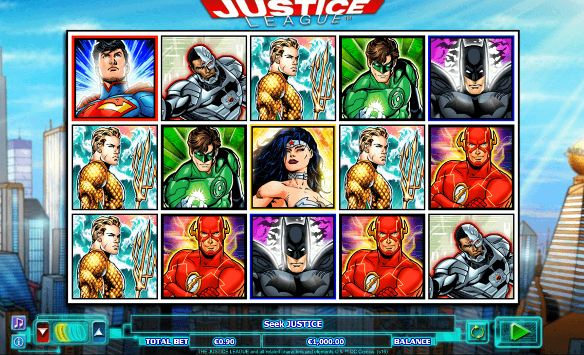 JUSTICE LEAGUE NEXTGEN GAMING