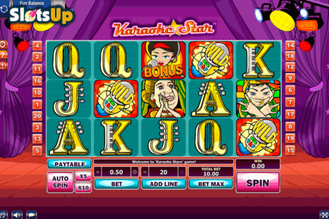 karaoke star gamesos casino slots