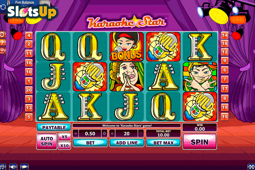 Karaoke Star Slots - Free Online GamesOS Slot Machine Game