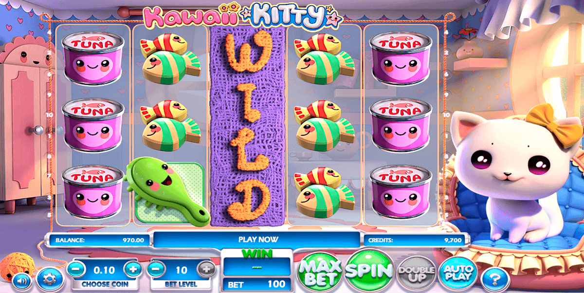 Kawaii Kitty Slot - Play for Free Online Today
