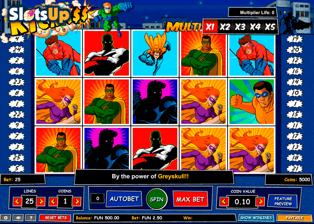 kick ass 1x2gaming casino slots
