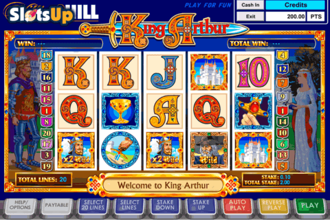 king arthur ash gaming casino slots