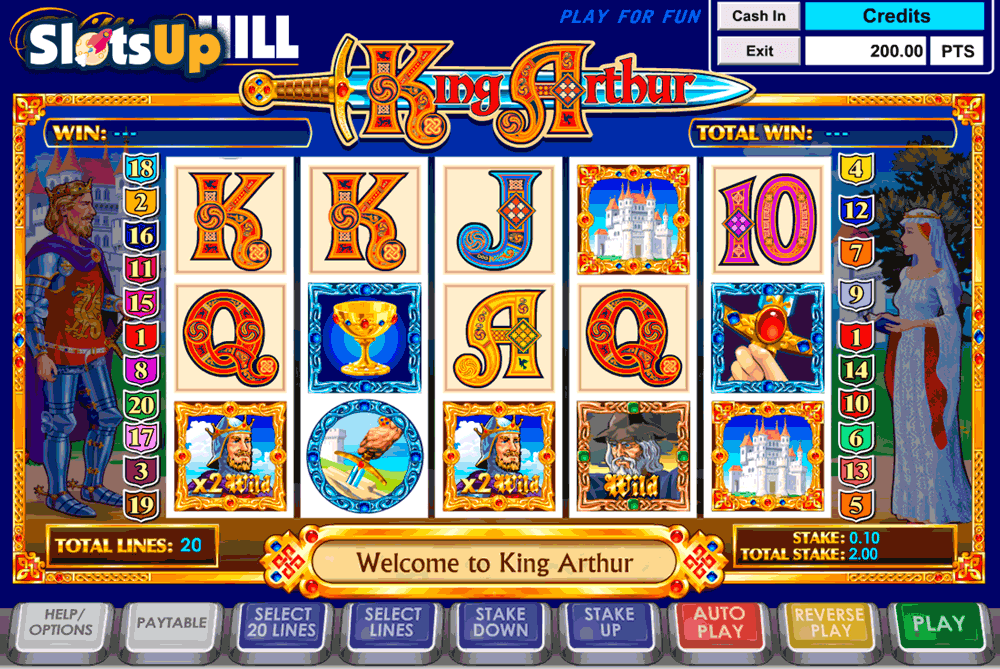 Spiele King Arthur - Video Slots Online