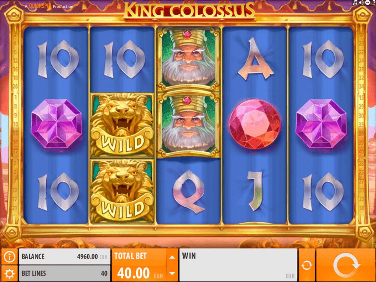 King Colossus QuickSpin Online Slots for Real Money - Rizk