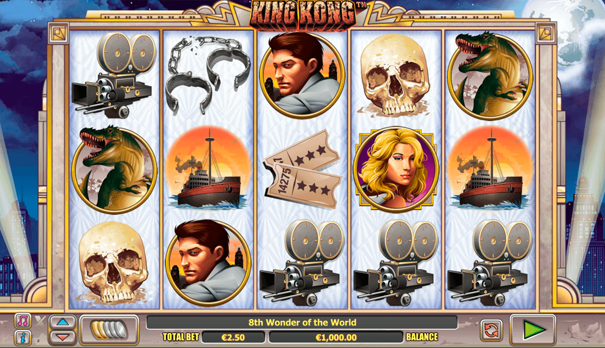 King Kong™ Slot Machine Game to Play Free in Playtechs Online Casinos