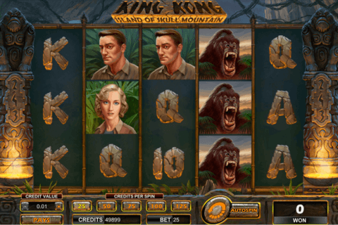king kong skull mountain amaya casino slots