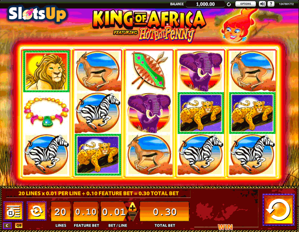free online slot machine king of casino